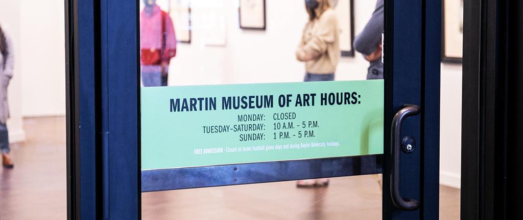 Martin Museum Doors Hours