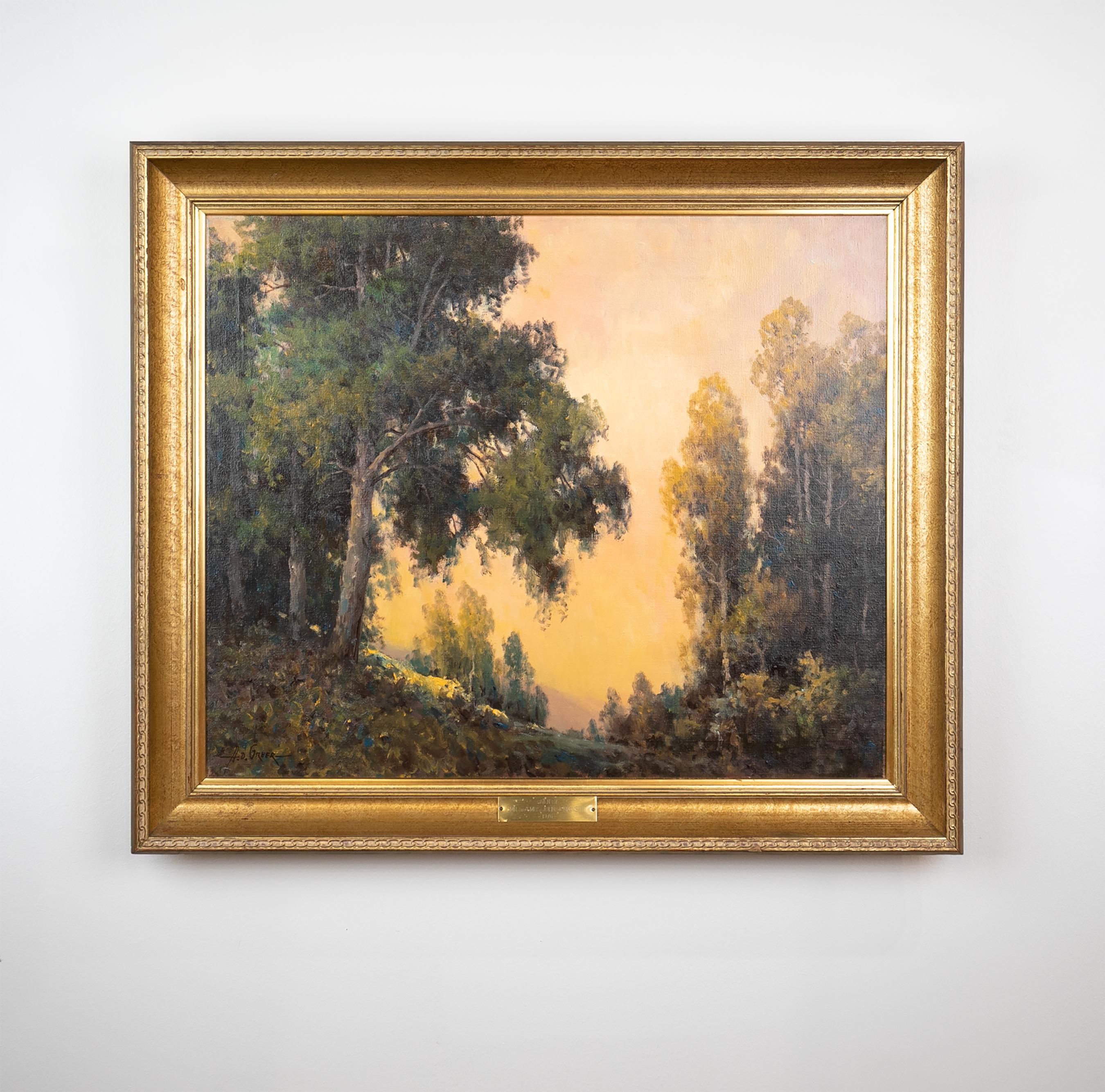 Aubrey Dale Greer, Untitled Landscape