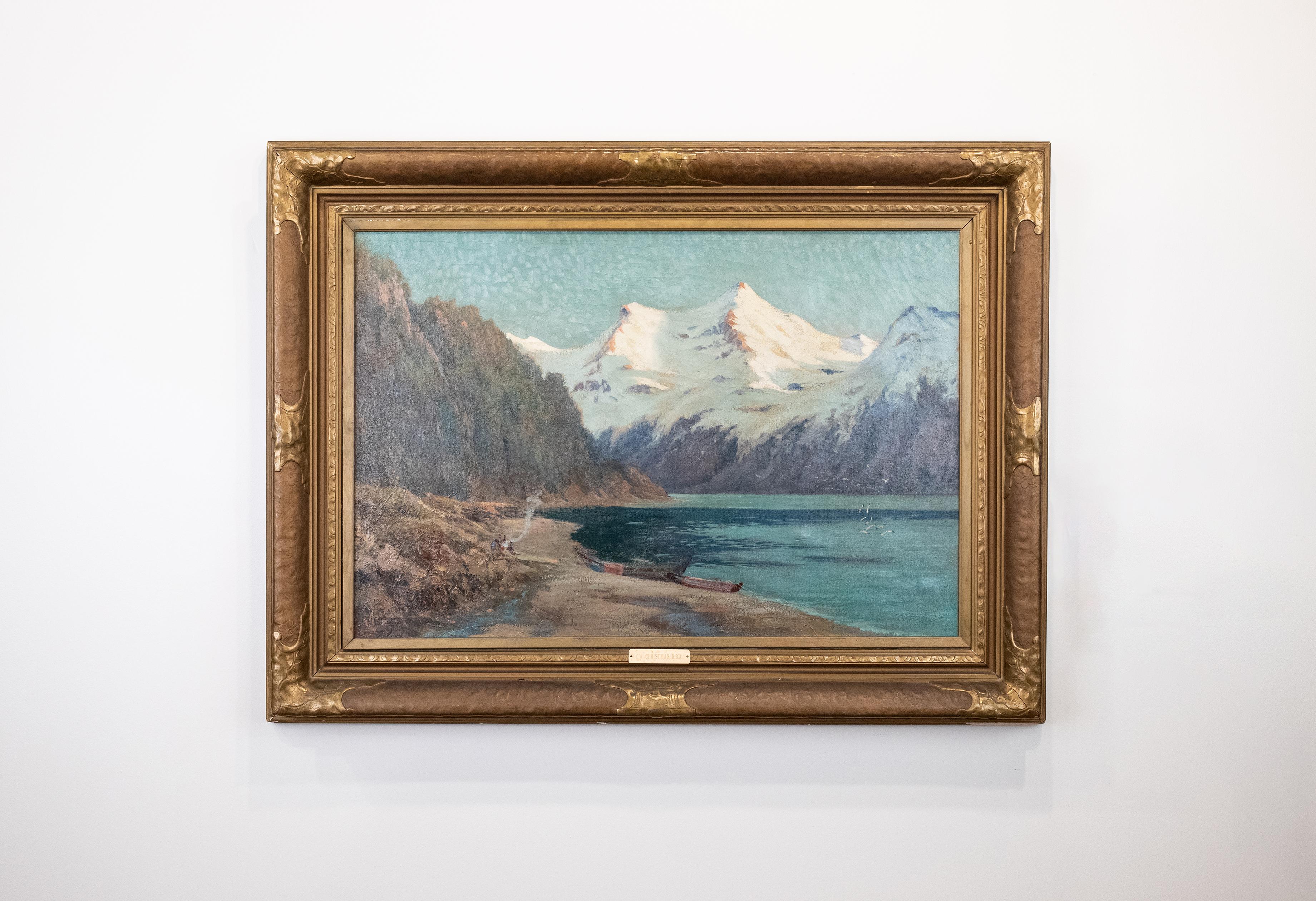 Ernest William Christmas, Mountain Landscape