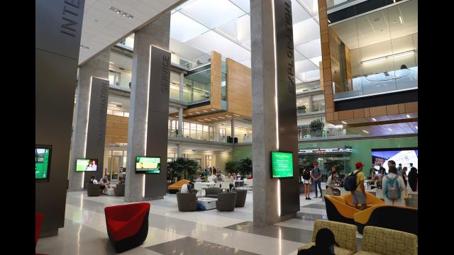 Full-Size Image: Foster Campus Atrium 2