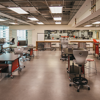 Learning Experience Laboratories (LEx Labs) tests the next-generation of innovative classrooms and laboratories