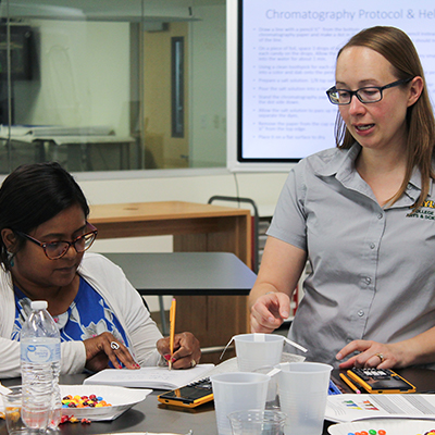 Baylor researchers engage in science outreach activities for youth and teachers