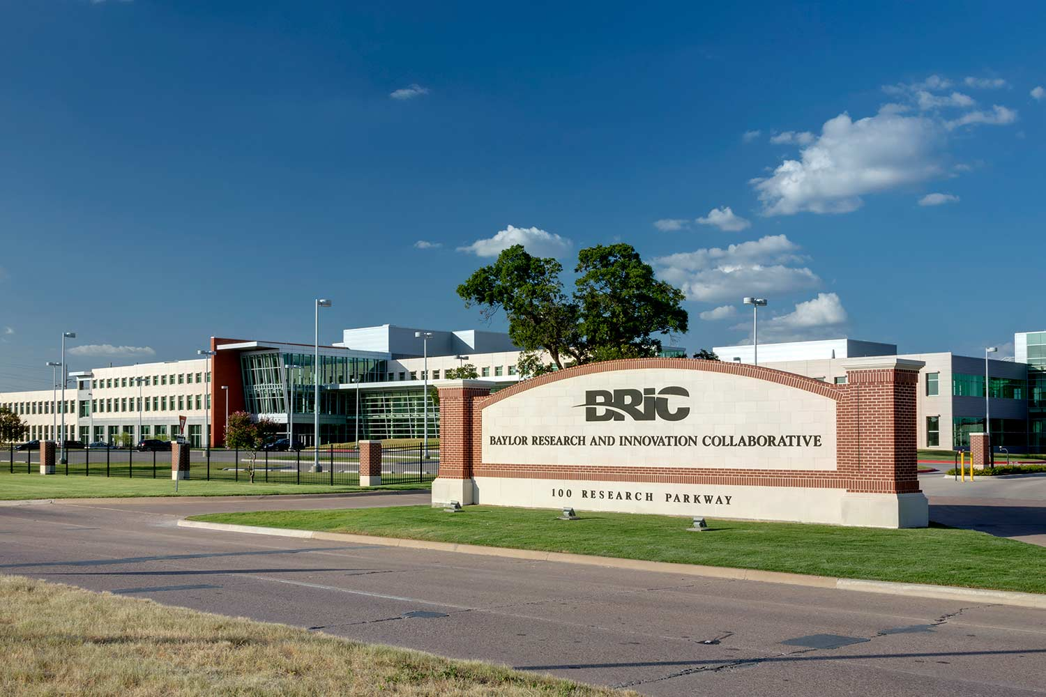 BRIC Exterior with Sign