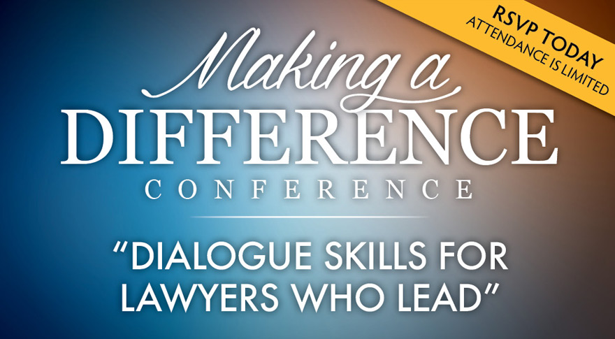 Dialogue Skills for Lawyers Who Lead