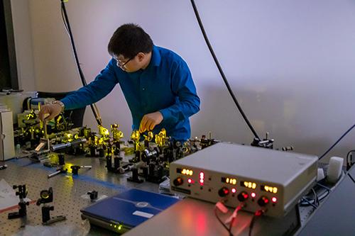 Quantum Optics - Yellow Tube Work