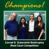 Baylor Law team Wins National Championship at Conrad B. Duberstein Bankruptcy Moot Court Competition