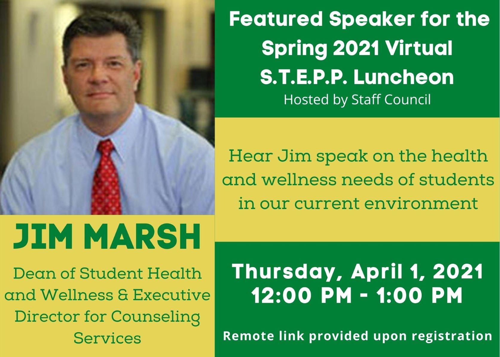 STEPP Luncheon April 1 2021