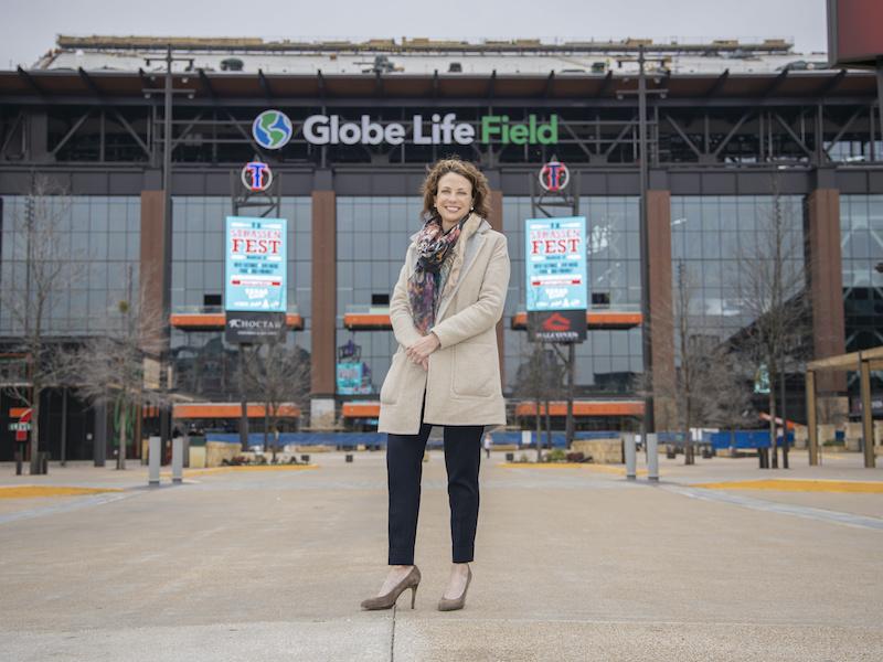 Globe Life Field Tour