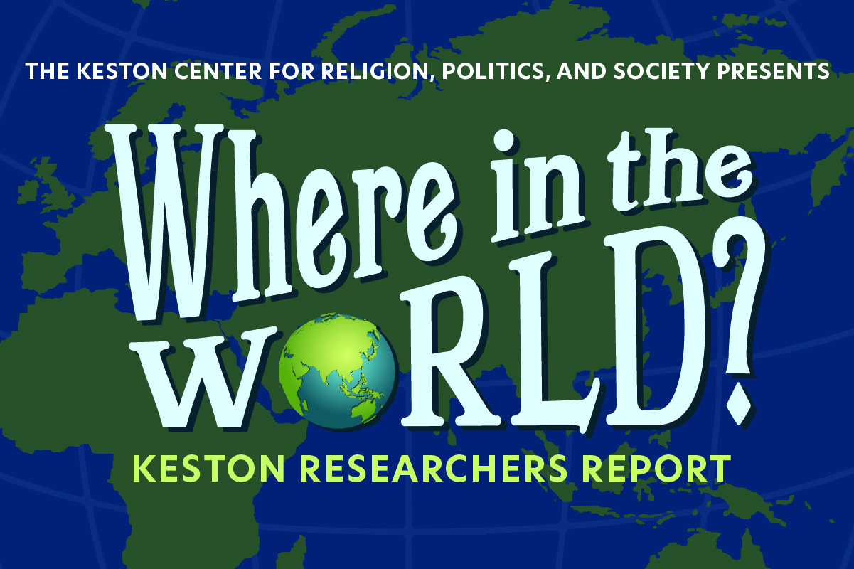 Keston Center Spring Lecture