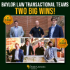Baylor Law Transactional Teams Take Two Big Wins to Start Competitive Season