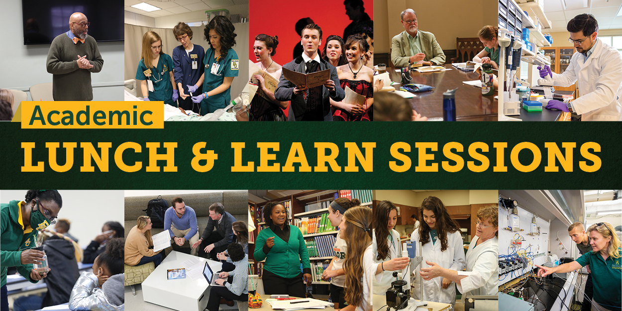 Academic Lunch and Learn Sessions
