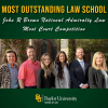 Baylor Law Moot Court Teams Take 'Most Outstanding Law School Award' at John R. Brown National Admiralty Law Moot Court Competition