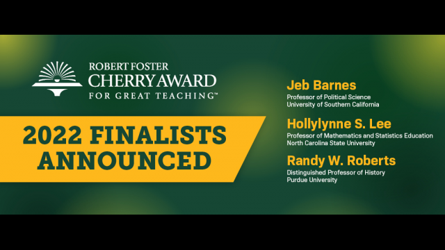 Baylor Spring 2022 Calendar.Finalists Selected For Baylor University S 250 000 Robert Foster Cherry Award For Great Teaching Media And Public Relations Baylor University
