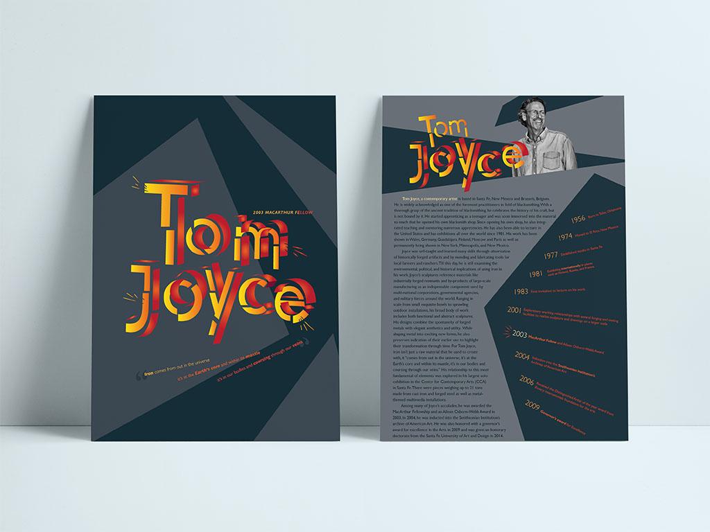 Maggie Liu, Tom Joyce Poster, Adobe Illustrator, Fall 2019