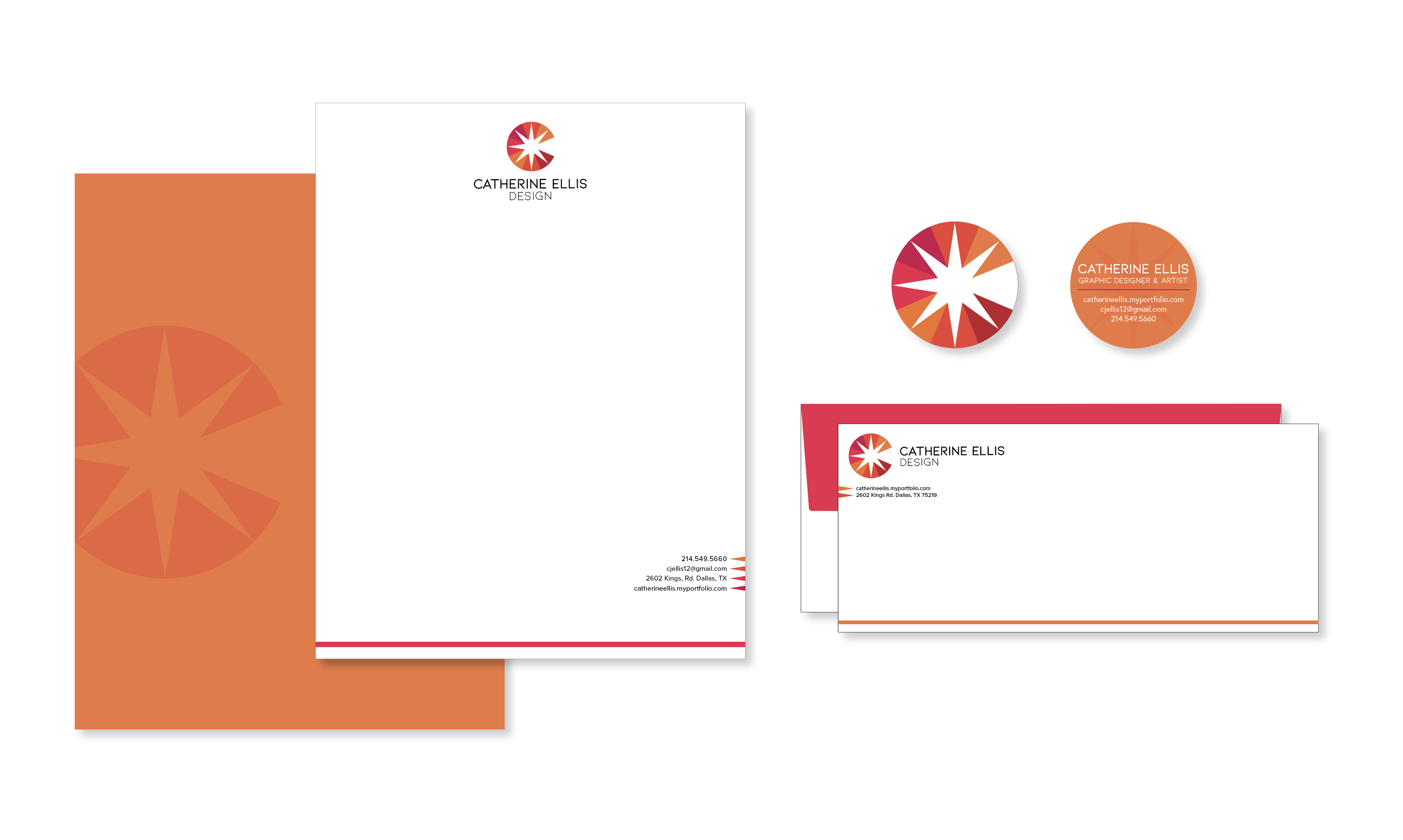Catherine Ellis, Catherine Ellis Design, Brand Identity, Spring 2021