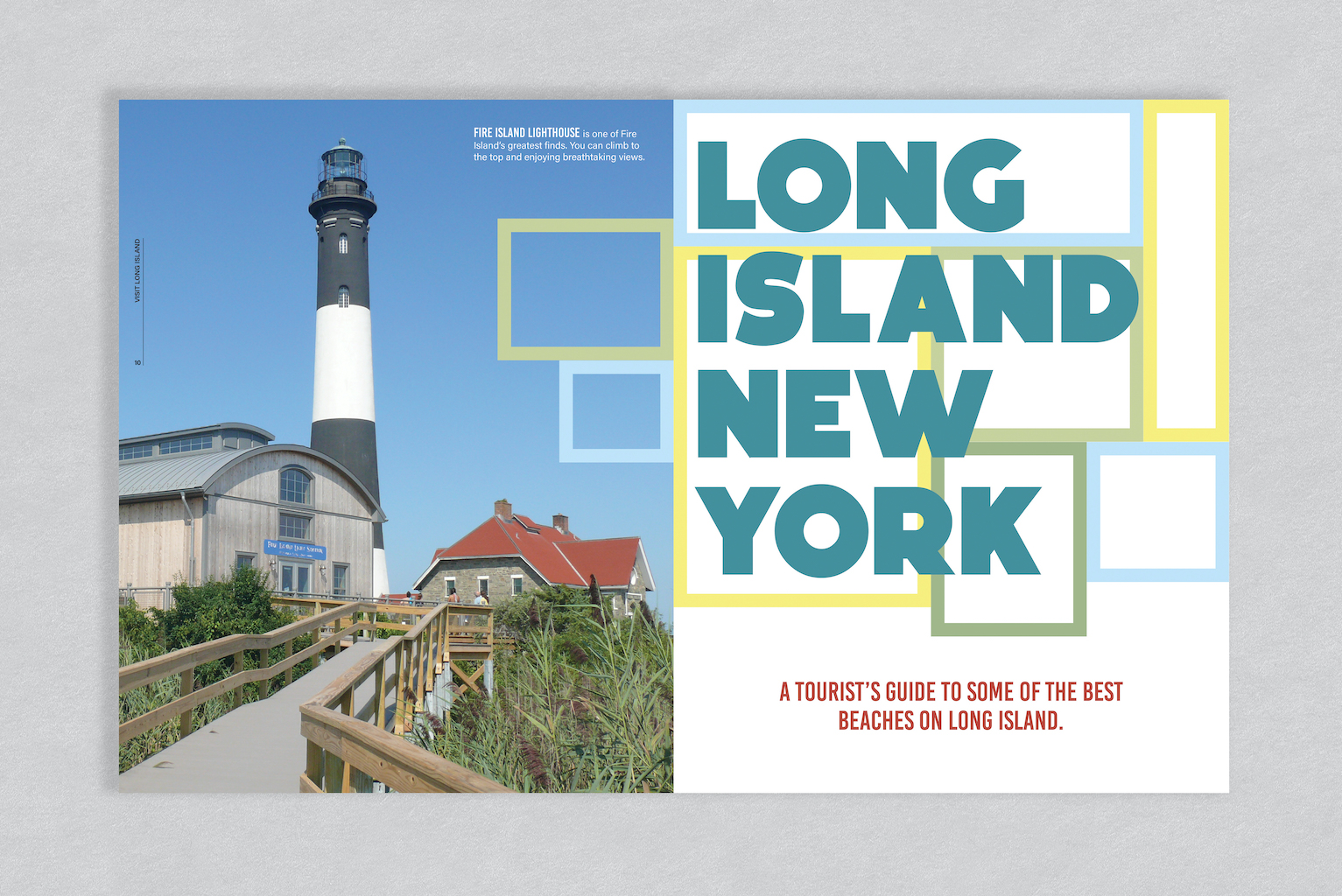 Megan Winters, Long Island New York Magazine Spread,  Adobe Illustrator, Spring 20201
