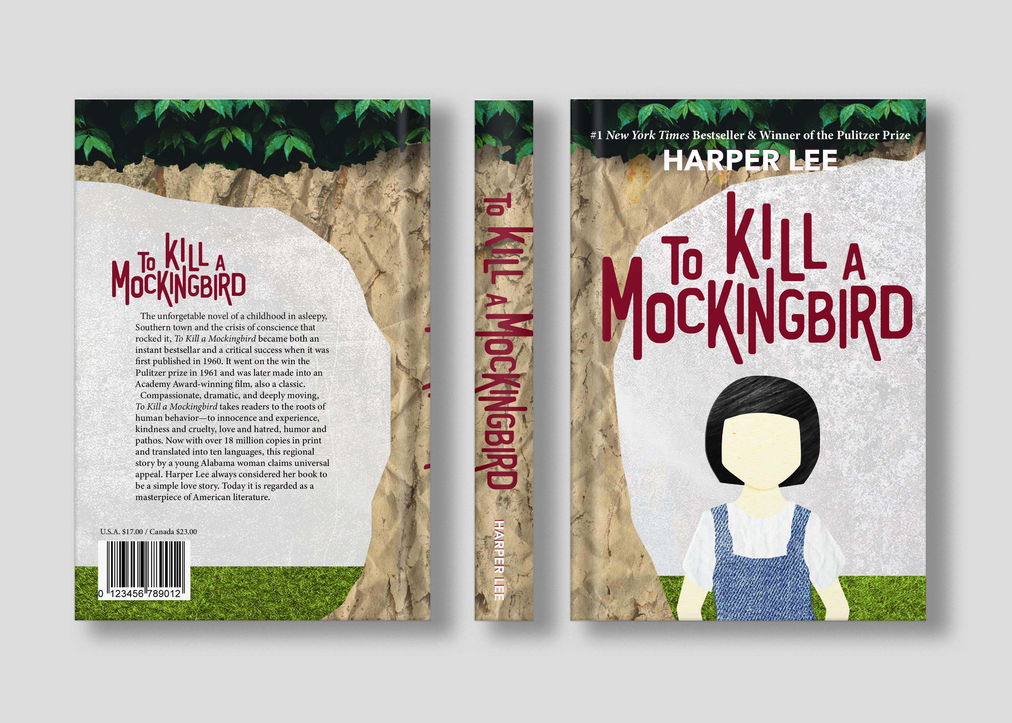 Maggie Lemley, To Kill a Mockingbird Book Sleeve Publication, Fall 2018