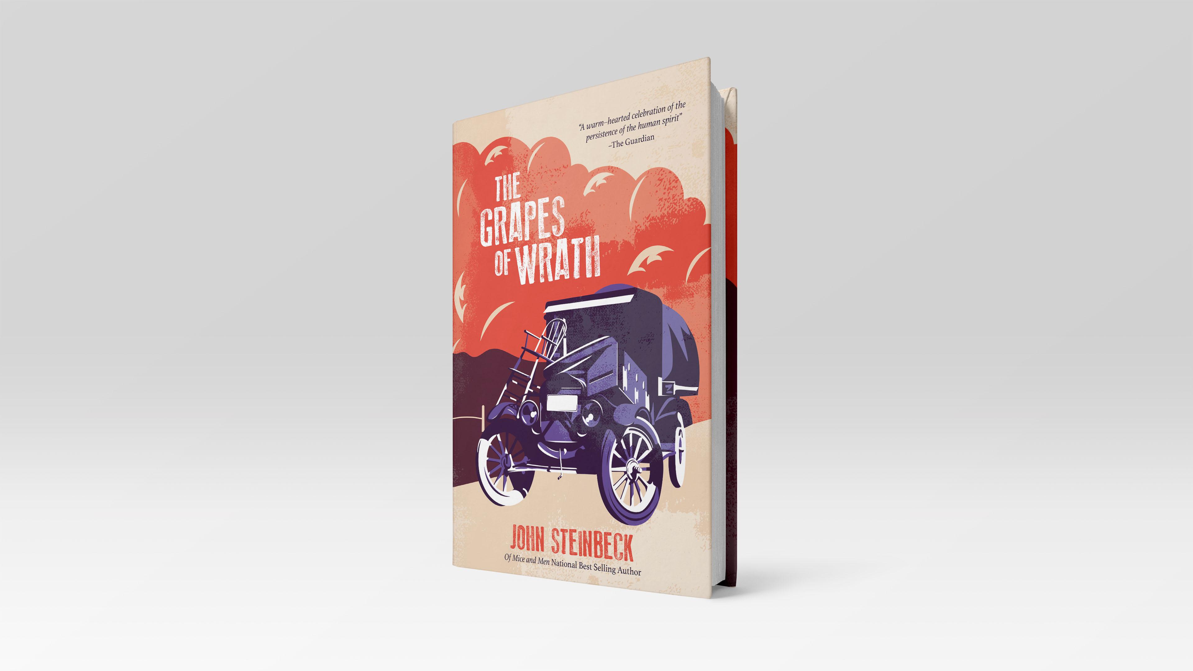 Christina Cardenas, The Grapes of Wrath, Book cover, November 2019