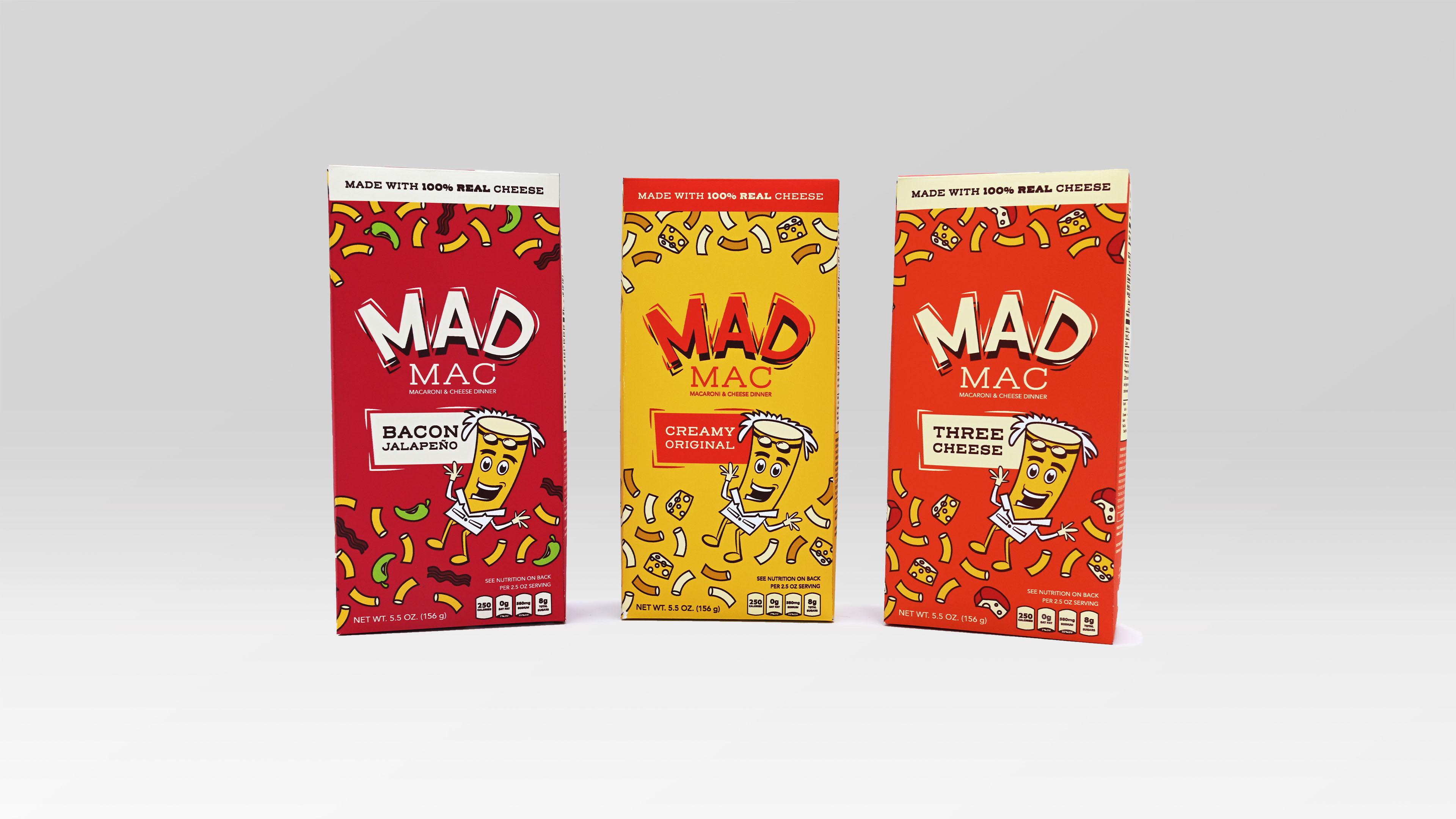 Christina Cardenas, Mad Mac, Package Design, March 2020