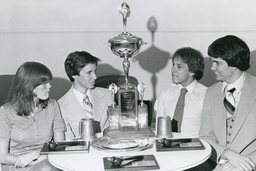 Baylor debaters have brought back hundreds of trophies over the years.