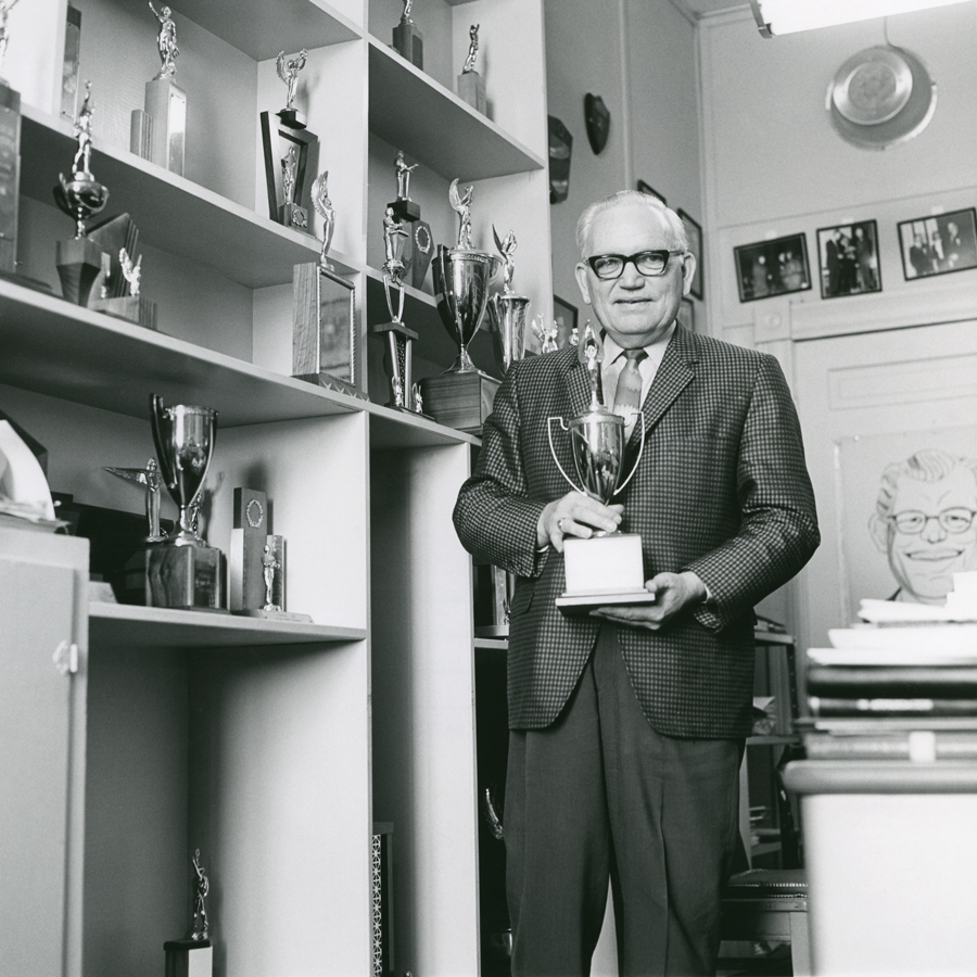 Dr. Glenn R. Capp's leadership from 1934 to 1981 brought Baylor debate to national prominence.
