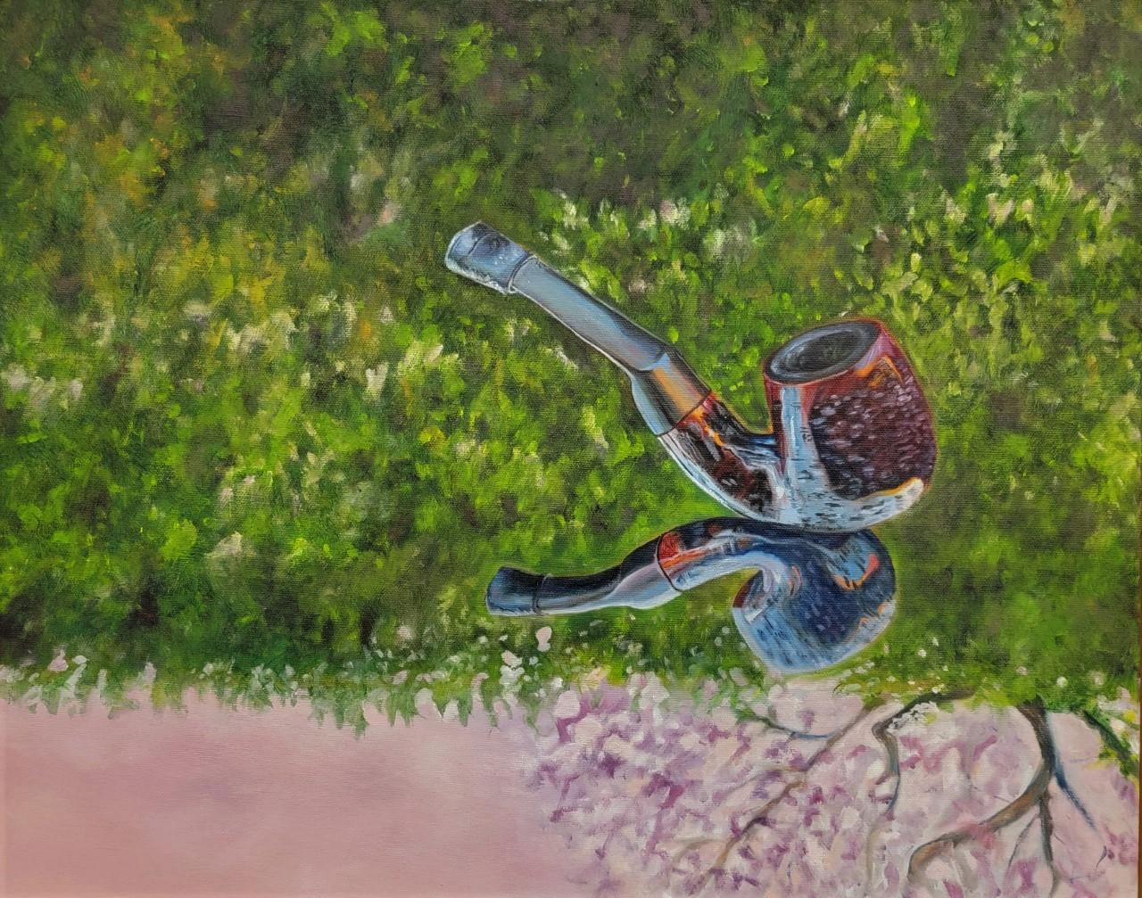 Ruth Rea, Harmony, Oil on Canvas, Spring 2021, 16 x 20