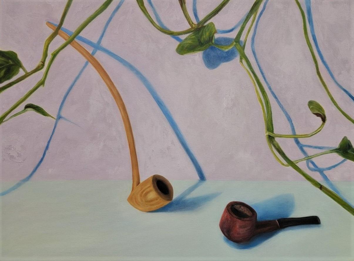 Ruth Rea, The Wedding, Oil on Canvas, Spring 2021, 18 x 24