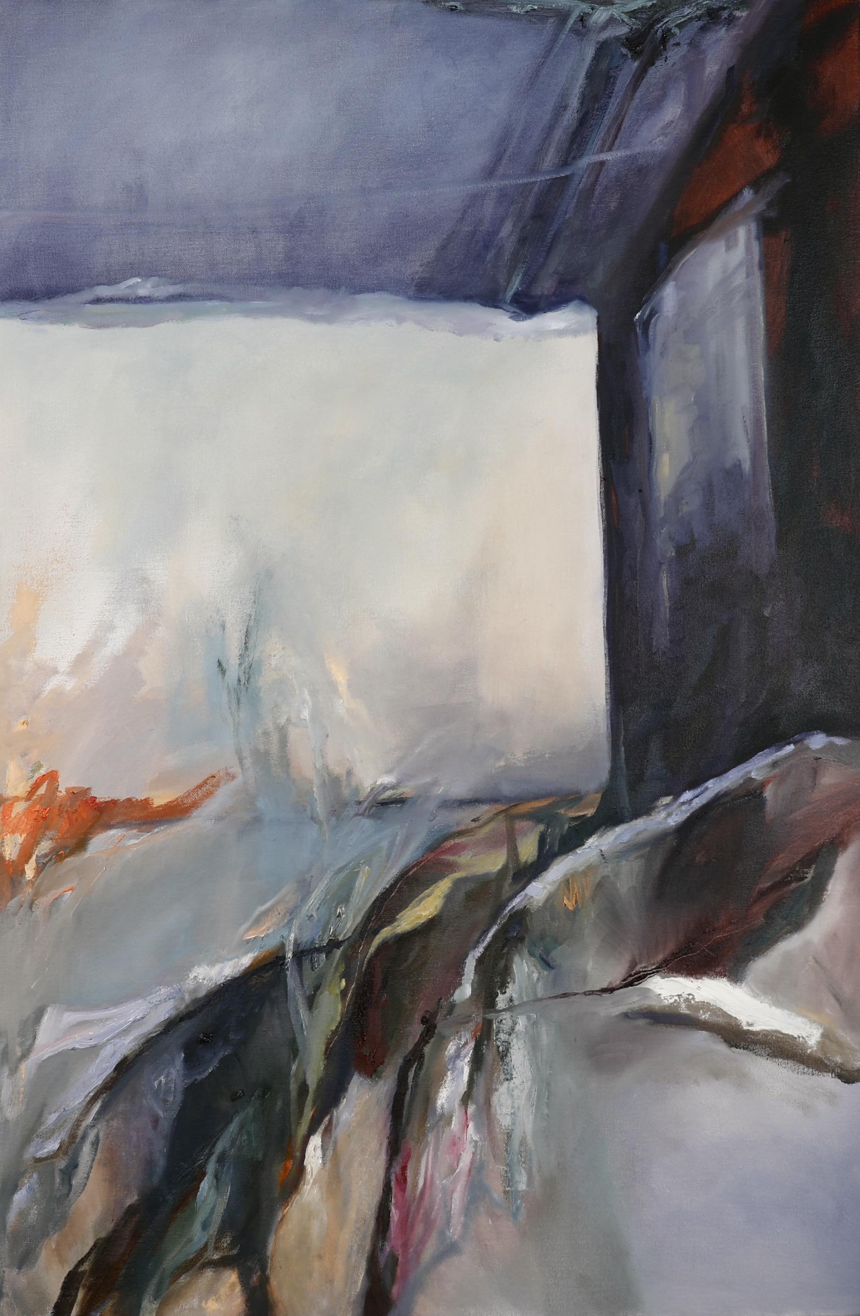 Chenxi Gao, Break Through, Oil on Canvas, September 2020, 36 x 24