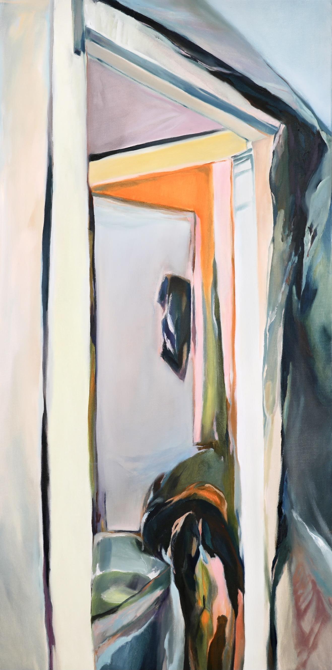 Chenxi Gao, Curiosity, Oil on Canvas, February 2021, 48 x 24