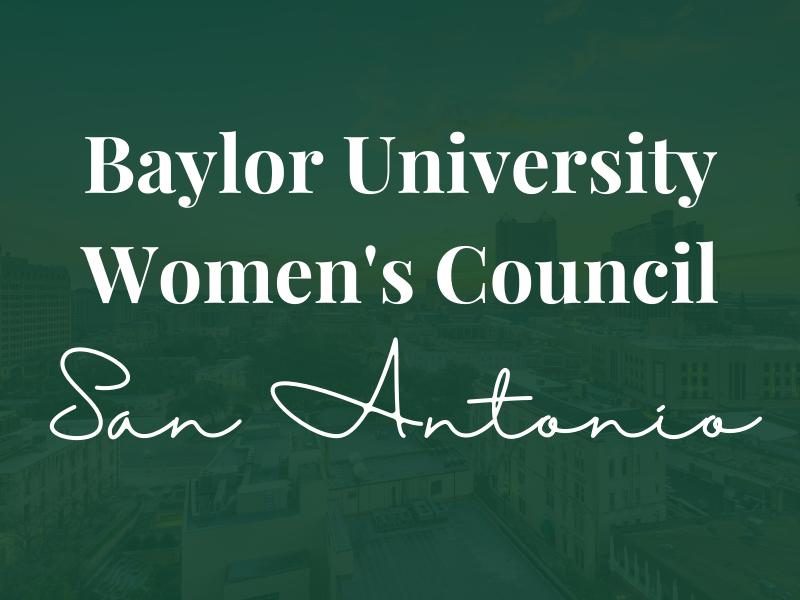 Baylor Women's Council of San Antonio