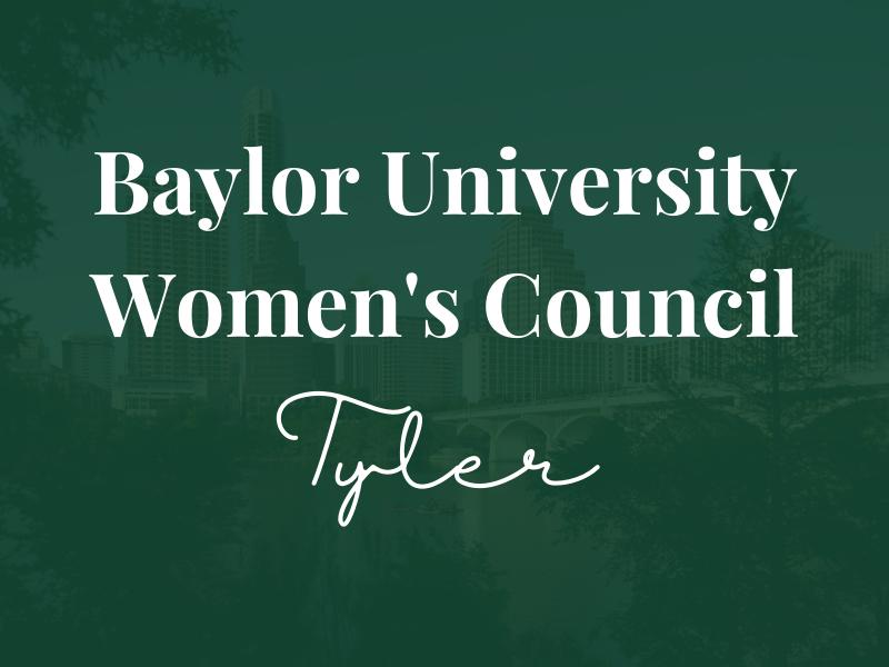 Baylor Women's Council of Tyler