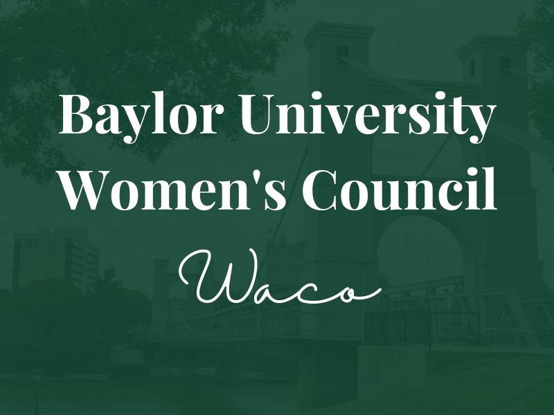 Baylor Women's Council of Waco