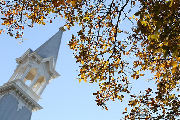 campus leaves
