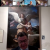 Mayor of Fano, Italy Surprises Armstrong Browning Library Fano Club