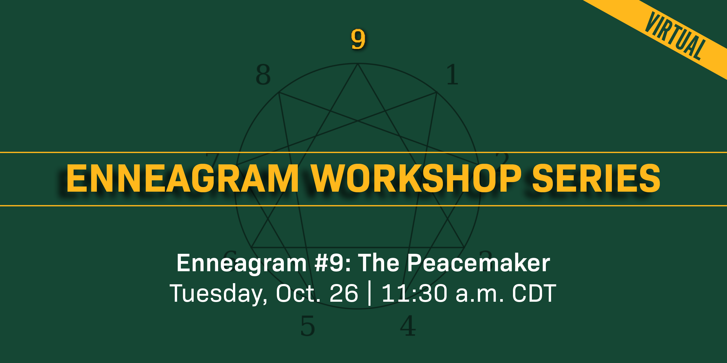 Ennagram Type 9 Banner Announcement