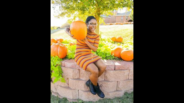 Asia Brown pumpkin patch