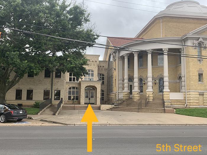 FBC Waco Entrance