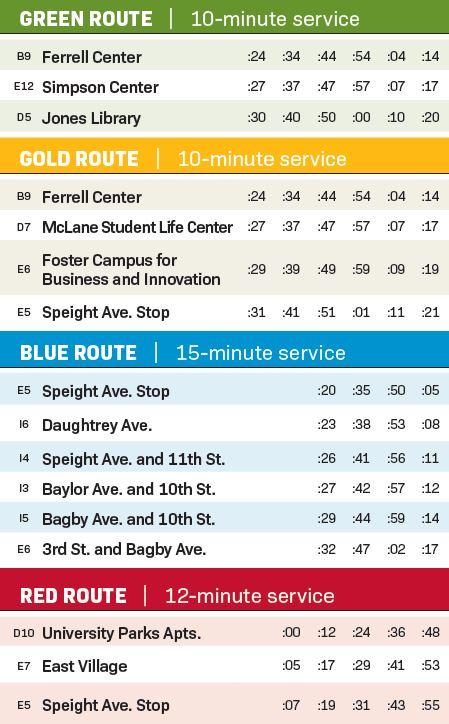 BUS Routes 2021 2022