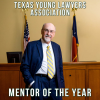 Professor Gerald Powell, JD '77, Recognized by the Texas Young Lawyers Association as Mentor of the Year.