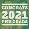 Congratulations to Our 2021 PhD Graduates!