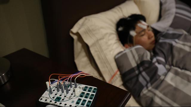 Full-Size Image: Sleep Lab Wires