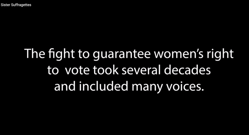 2020 Sister Suffragettes 1