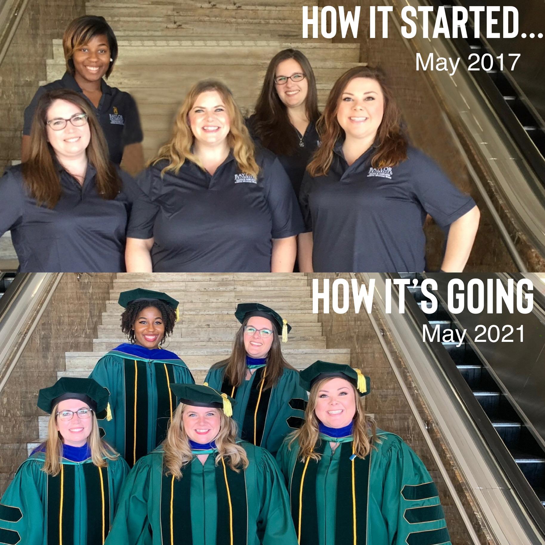 PhD 2017 Cohort Start to Finish