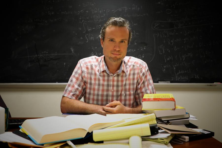 Graber Earns Math Department's First NSF CAREER Award