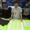 Libraries Makerspace Team Supports Work on 6P Color Inc. with Ingenuity, Laser Cutter