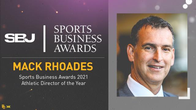 Mack Rhoades SBJ AD of the Year