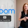 Zoom Automatic Live Transcription