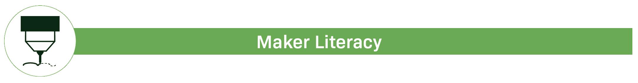 Maker Literacy badge