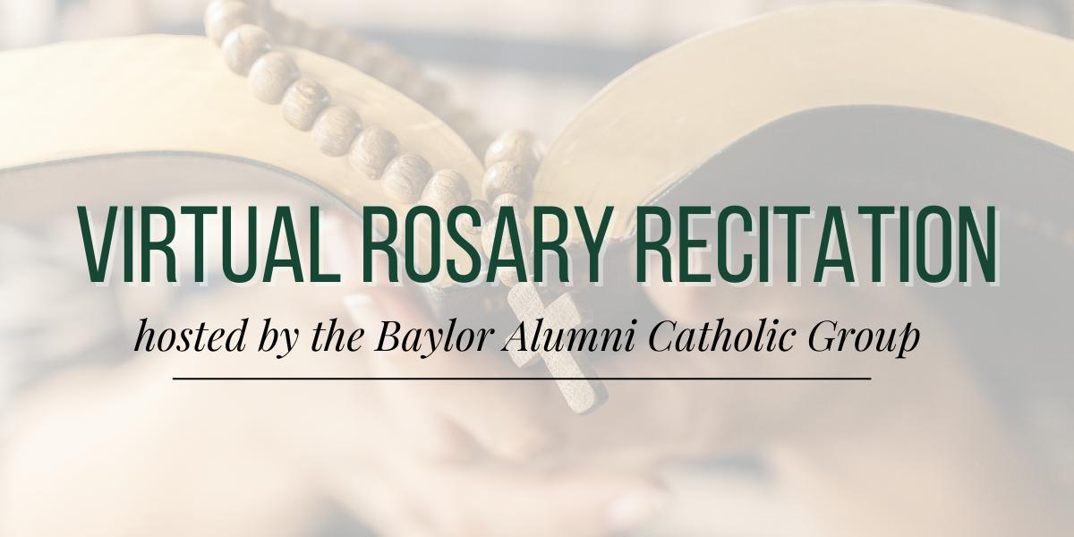 Virtual Rosary Recitation
