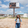 Recent Baylor Art Graduate's Photography on Billboard